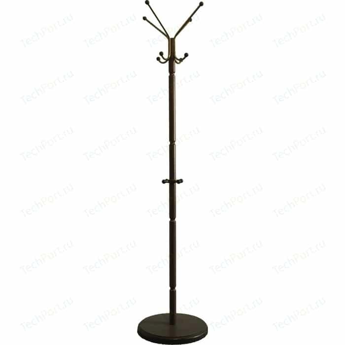 Вешалка напольная Мебелик В 33Н средне-коричневый