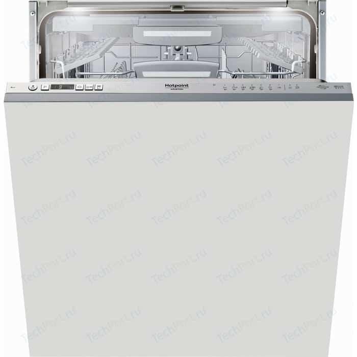 Встраиваемая посудомоечная машина Hotpoint-Ariston HIO 3T123 WFT встраиваемая посудомоечная машина hotpoint ariston ltf 11s112 l eu серебристый