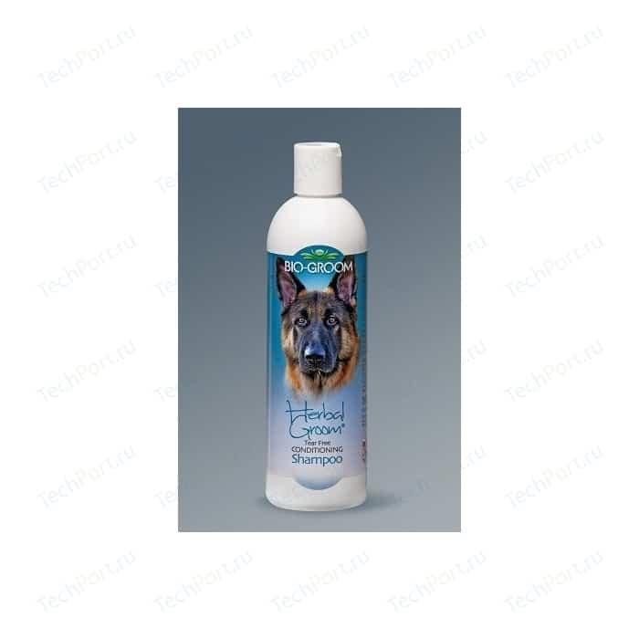 Шампунь-кондиционер BIO-GROOM Herbal Groom Tear Free Conditioning Shampoo травяной без слез для собак 355мл (24012)