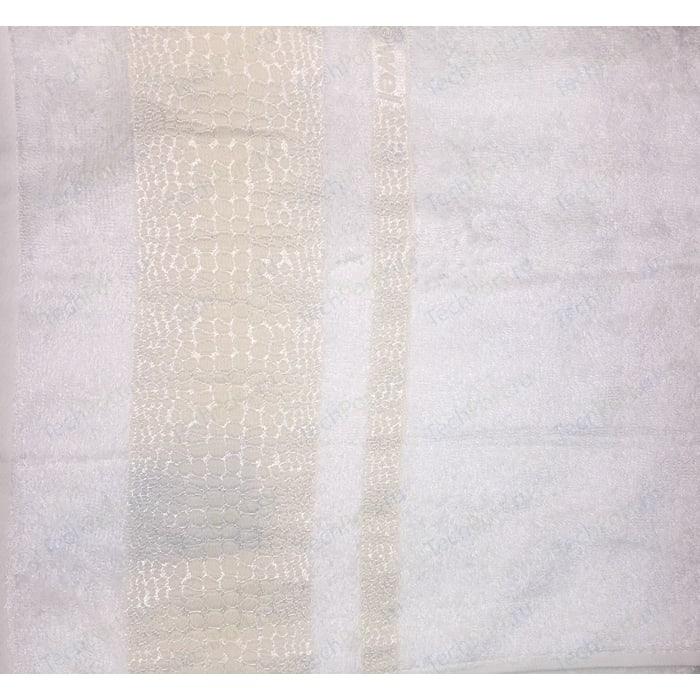 Полотенце Brielle 70х140см creame Bamboo Crocodile (1213-85600)