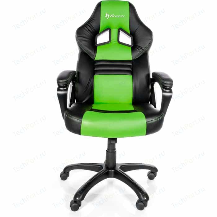 Компьютерное кресло для геймеров Arozzi Monza green