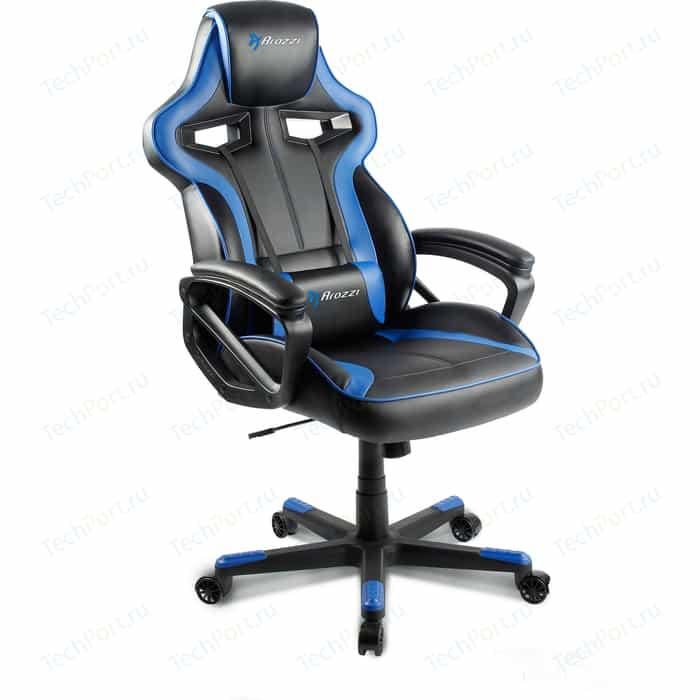 Компьютерное кресло для геймеров Arozzi Milano blue