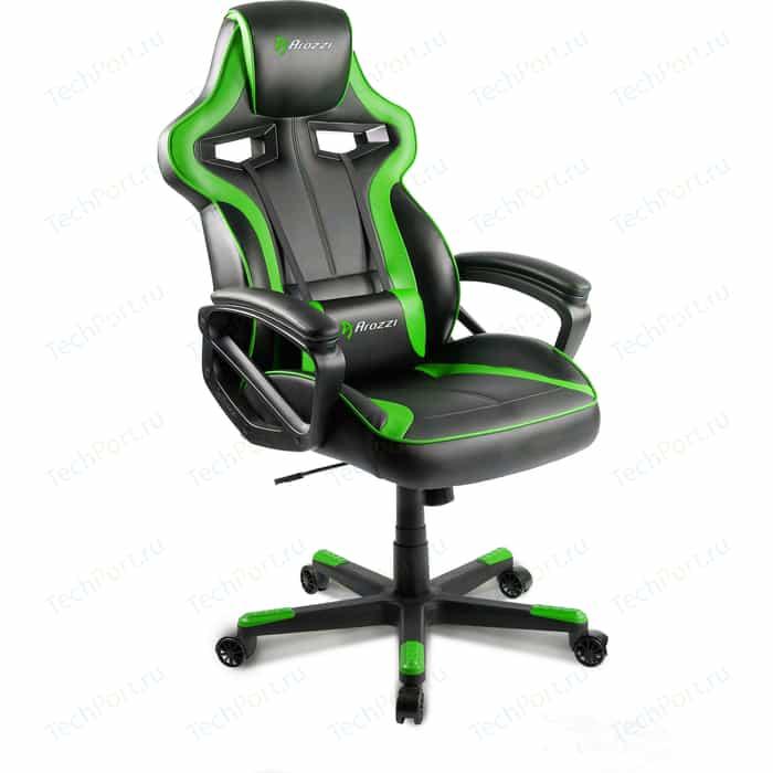 Компьютерное кресло для геймеров Arozzi Milano green