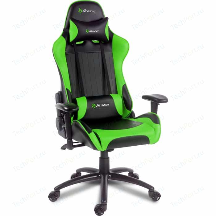 Компьютерное кресло для геймеров Arozzi Verona-V2 green