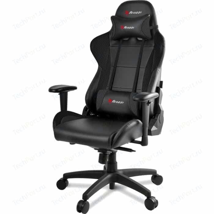 Компьютерное кресло для геймеров Arozzi Verona Pro carbon black