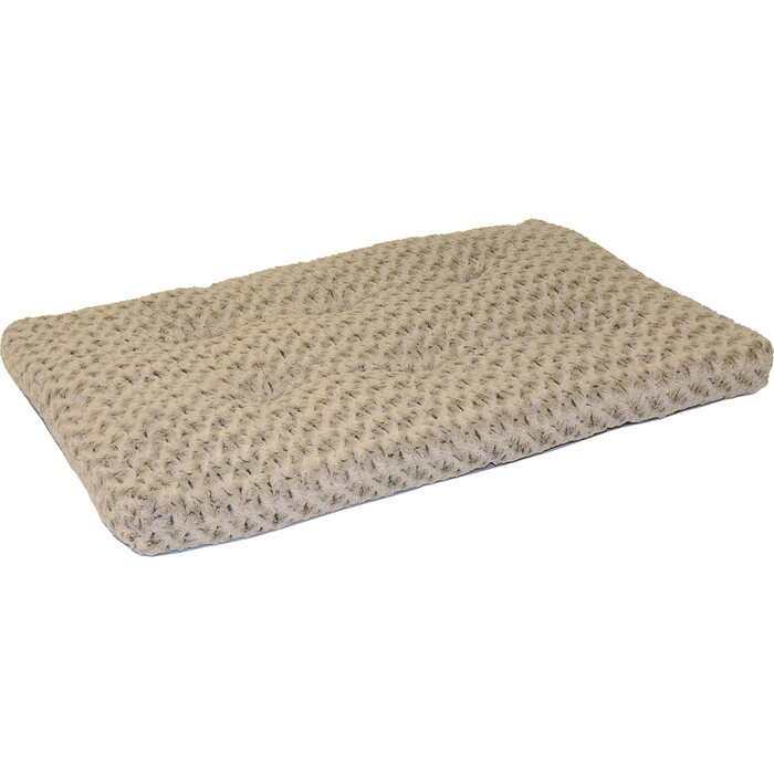 Лежанка Midwest Ombre Mocha Swirl Fur Pet Bed 48 плюшевая с завитками 112х74 см мокко для собак