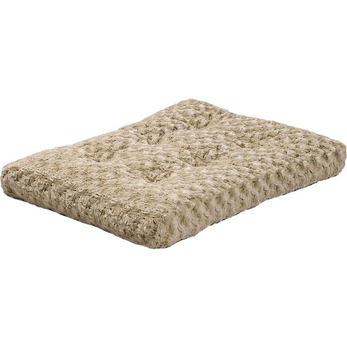 Лежанка Midwest Ombre Mocha Swirl Fur Pet Bed 30 плюшевая с завитками 74х53 см мокко для собак