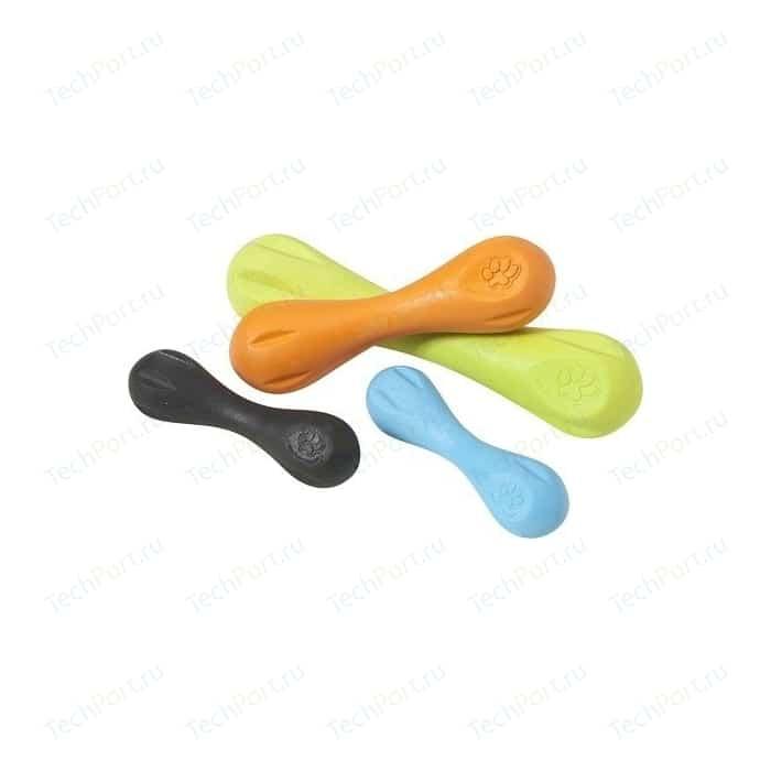 Игрушка Zogoflex Hurley Small 6 гантеля оранжевая 15см для собак (West Paw Design)