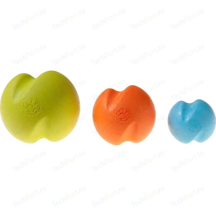 Игрушка Zogoflex Jive Large 3.25 мячик оранжевый 8см для собак (West Paw Design)