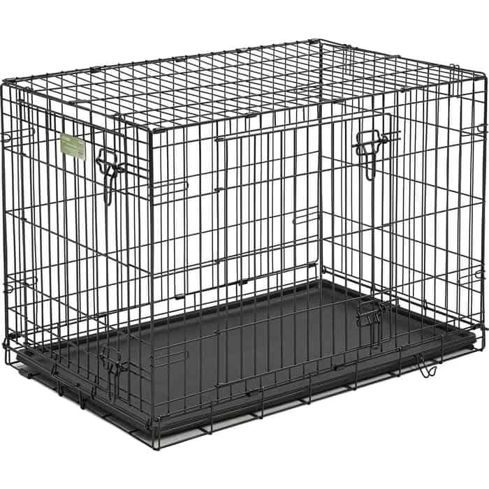 Клетка Midwest iCrate 36 Double Door Dog Crate 91x58x64h см 2 двери черная для собак