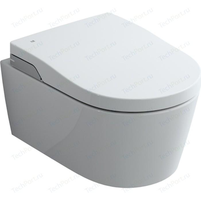 Унитаз подвесной Roca Inspira In-Wash в комплекте с крышкой биде и электронным управлением (803060001)