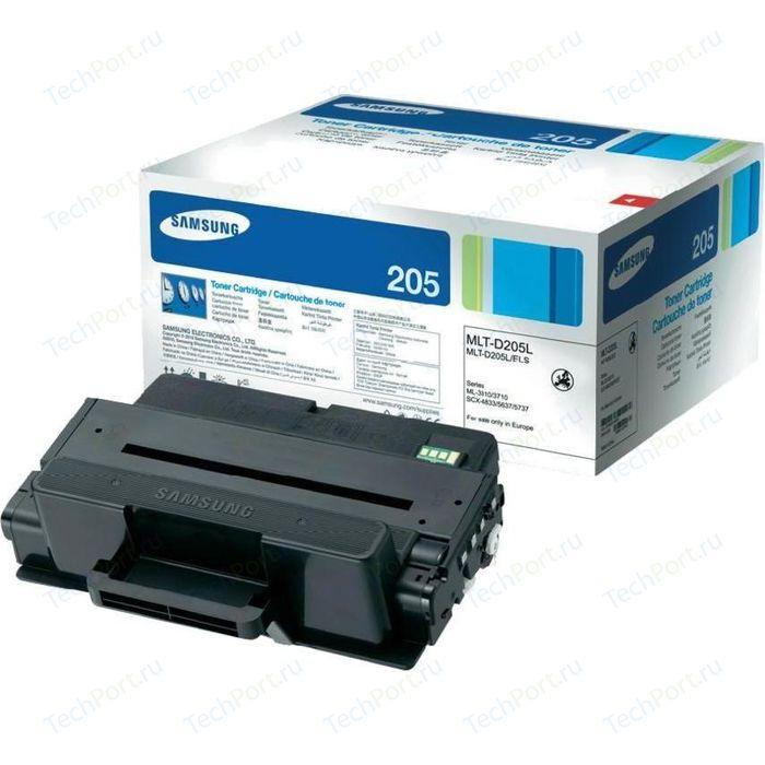 Картридж Samsung MLT-D205L картридж sakura mltd205s для samsung ml 3310d 3310nd 3710d 3710nd scx 4833fd 4833fr 563 черный 2000 к