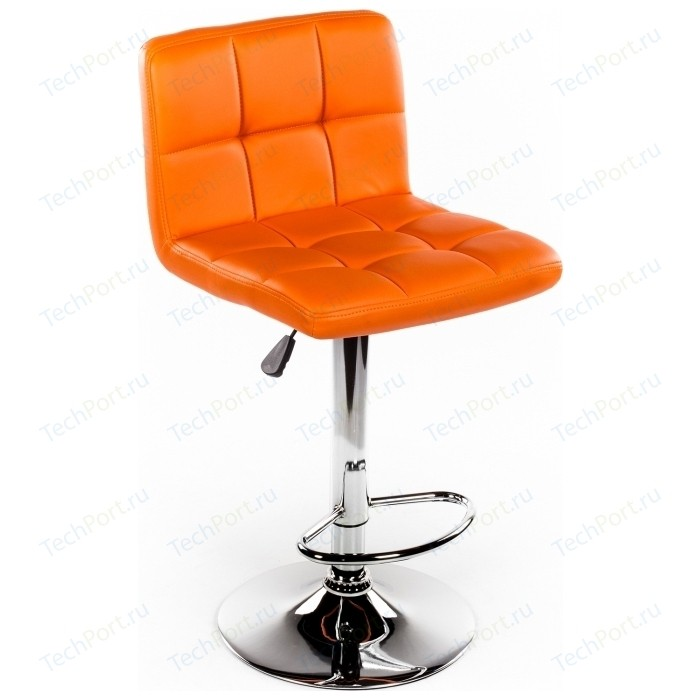 Барный стул Woodville Paskal оранжевый