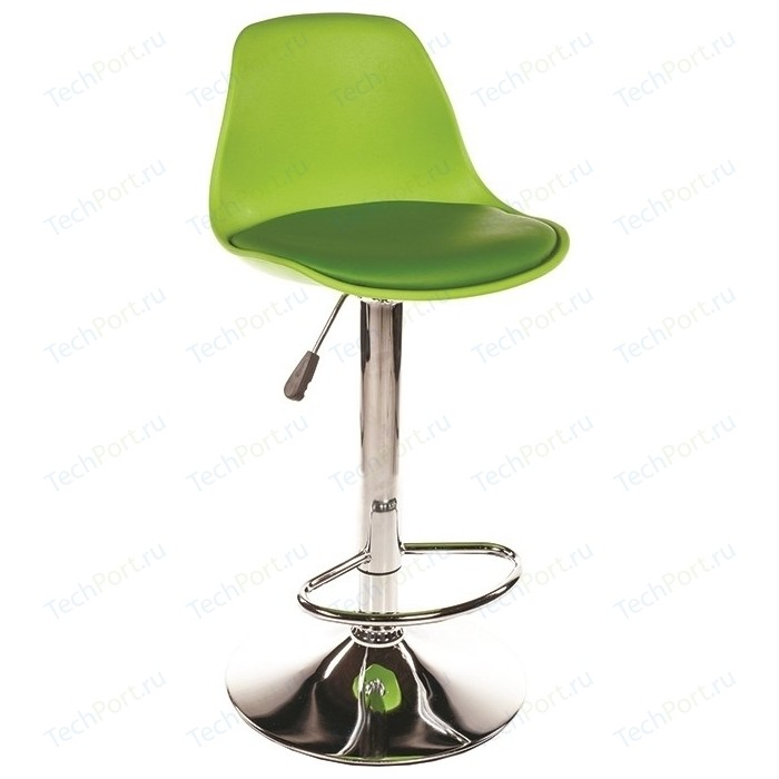Барный стул Woodville Soft зеленый
