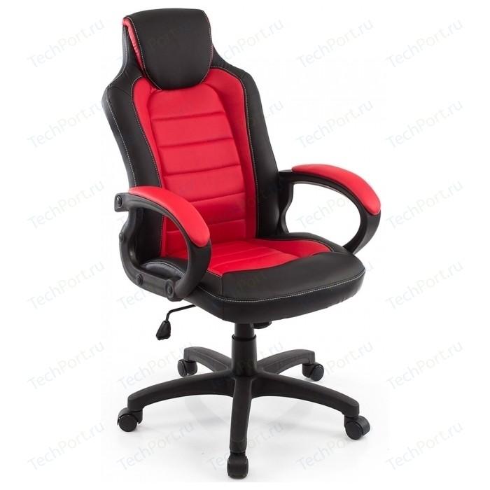 Компьютерное кресло Woodville Kadis темно-красное/черное