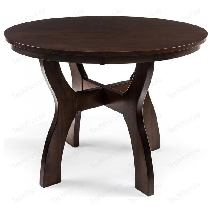 Стол деревянный Woodville Locarno cappuccino