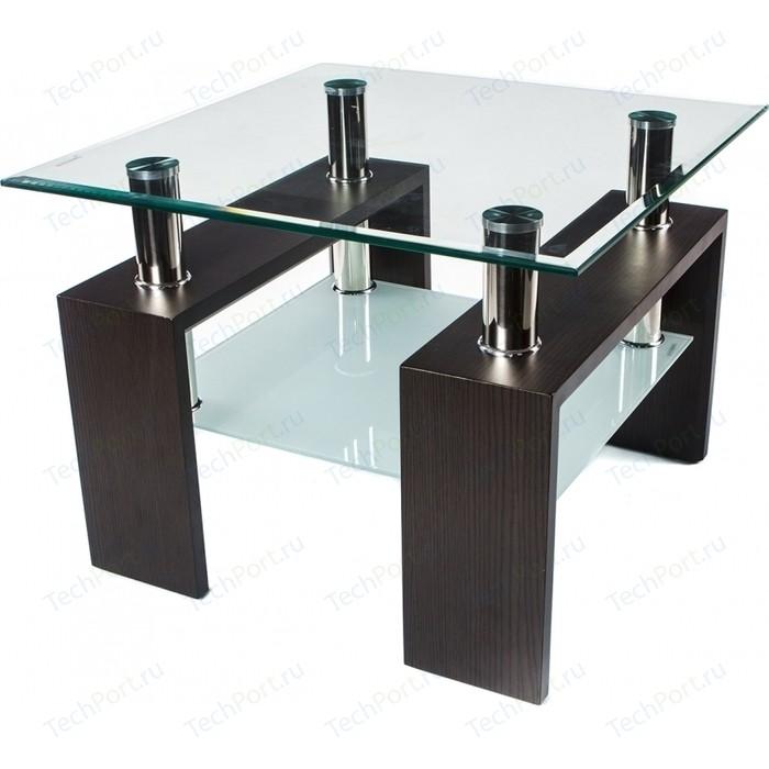 Стол стеклянный Woodville ST-052 венге