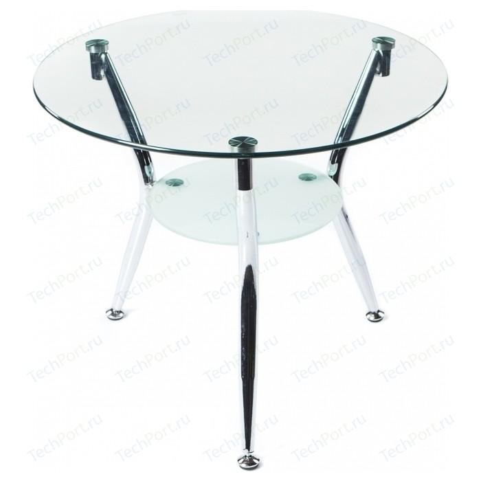 Стол стеклянный Woodville Round