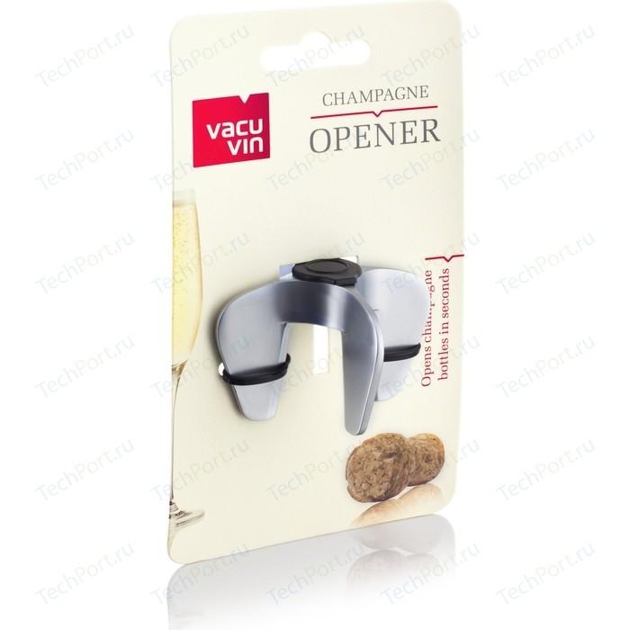 Фото - Устройство для открывания бутылок с шампанским Vacu Vin (68615606) штопор бабочка vacu vin 68423606