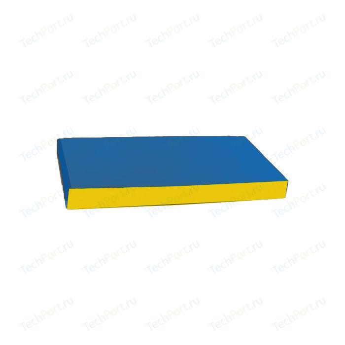 Мат КМС № 1 (100 x 50 10) сине-желтый