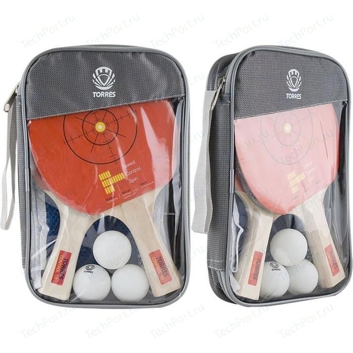Набор для настольного тенниса Torres Control 10 (TT0010) две ракетки и 3 мяча