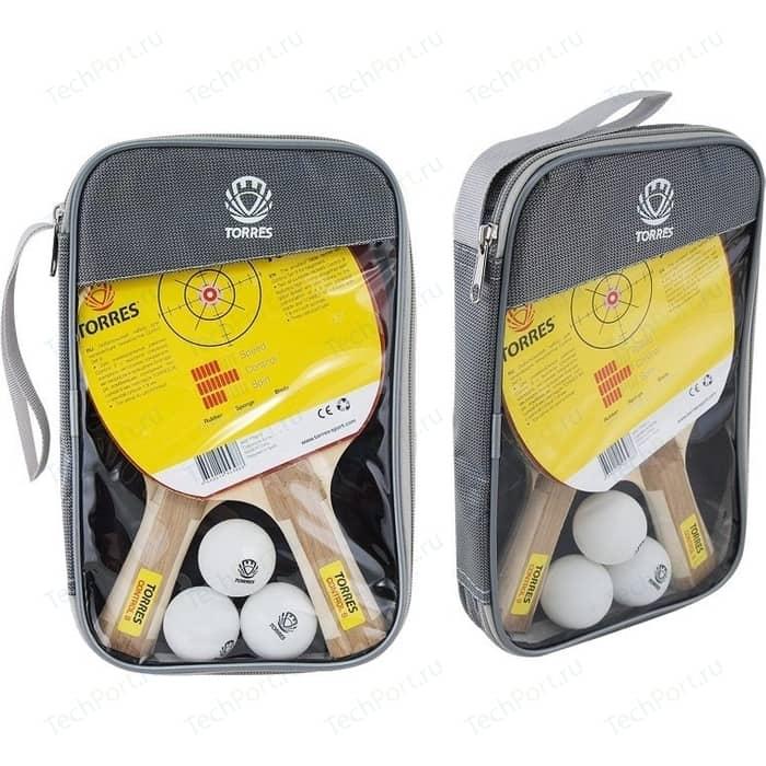 Набор для настольного тенниса Torres Control 9 (TT0011) две ракетки и 3 мяча