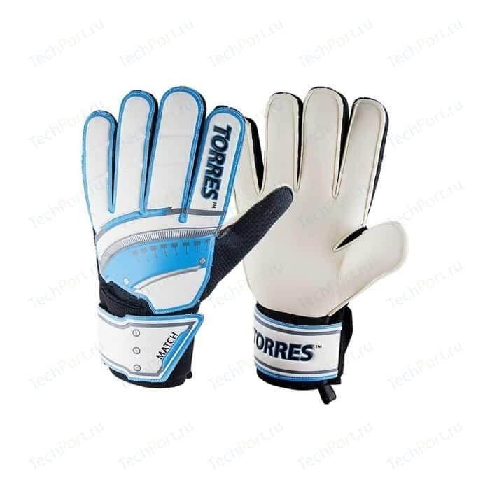Перчатки вратарские Torres Match (FG05069) р.9 перчатки вратарские torres match fg050610 р 10