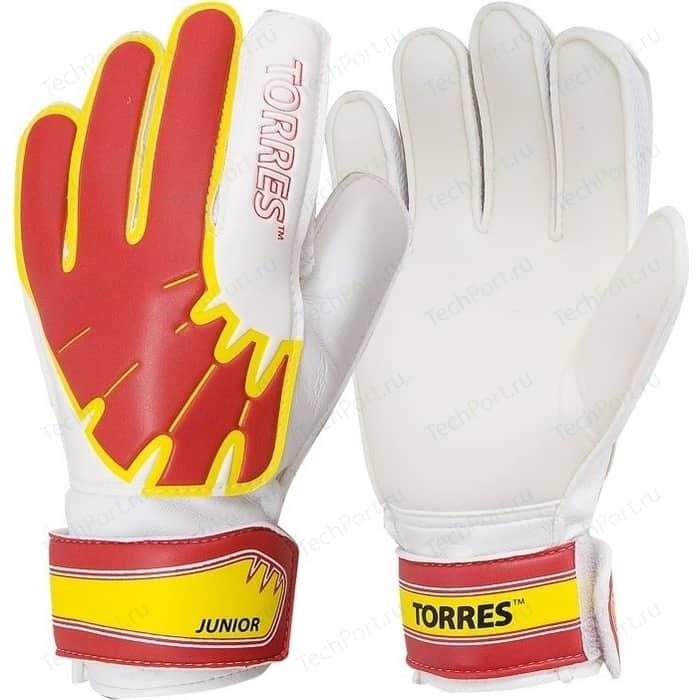 Перчатки вратарские Torres Jr (FG05016-RD) р.6 перчатки вратарские torres match fg050610 р 10