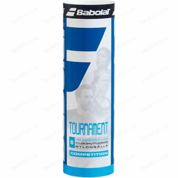 Воланы для бадминтона Babolat Tournament 6 (562004 средняя скорость шт)
