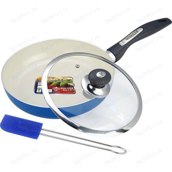 Сковорода Vitesse d 20 см VS-2200 сковорода d 24 см kukmara кофейный мрамор смки240а
