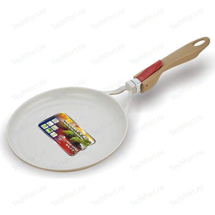 Сковорода для блинов Vitesse d 28см VS-2254 сковорода для блинов vitesse d 28см granite vs 4015