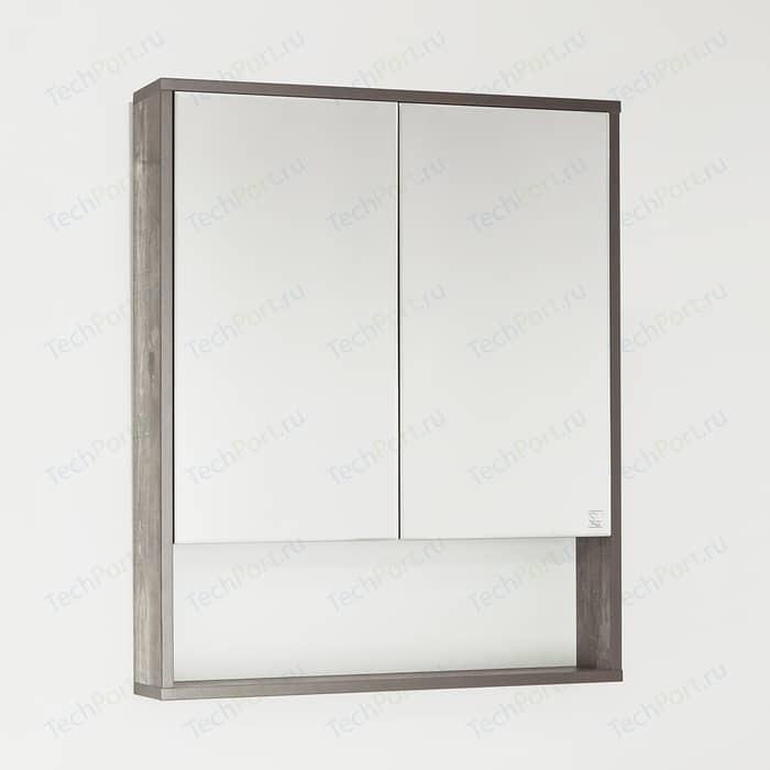 Зеркальный шкаф Style line Экзотик 65 бетон (4650134470895)