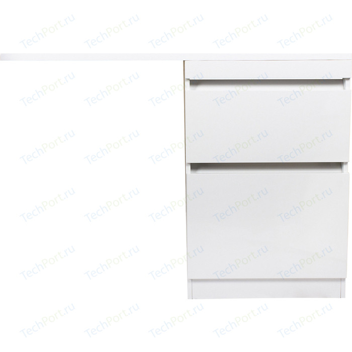 Тумба под раковину Style line Даллас Люкс 58 (120) напольная, стиральную машину, белая (2000949095745)