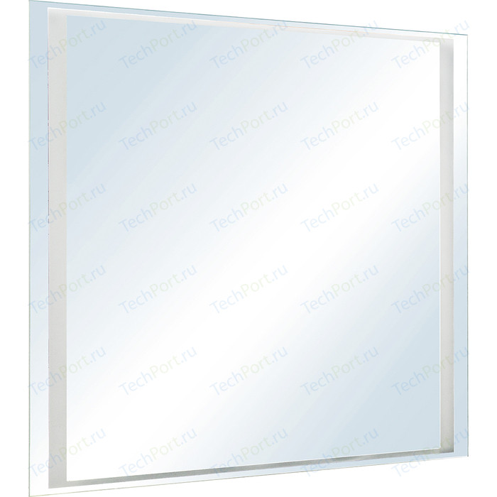 Зеркало Style line Прованс 80 с подсветкой, белое (2000949095912)