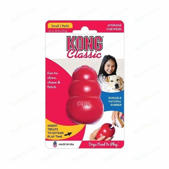 Игрушка KONG Classic Small малая 7х4см для собак