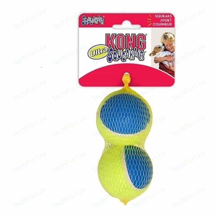 Игрушка KONG Ultra SqueakAir Ball Large Мячик большой 8см (в упаковке 2шт) для собак