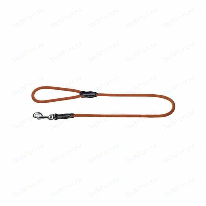 Поводок Hunter Leash Freestyle 10/110 круглый нейлон красный для собак