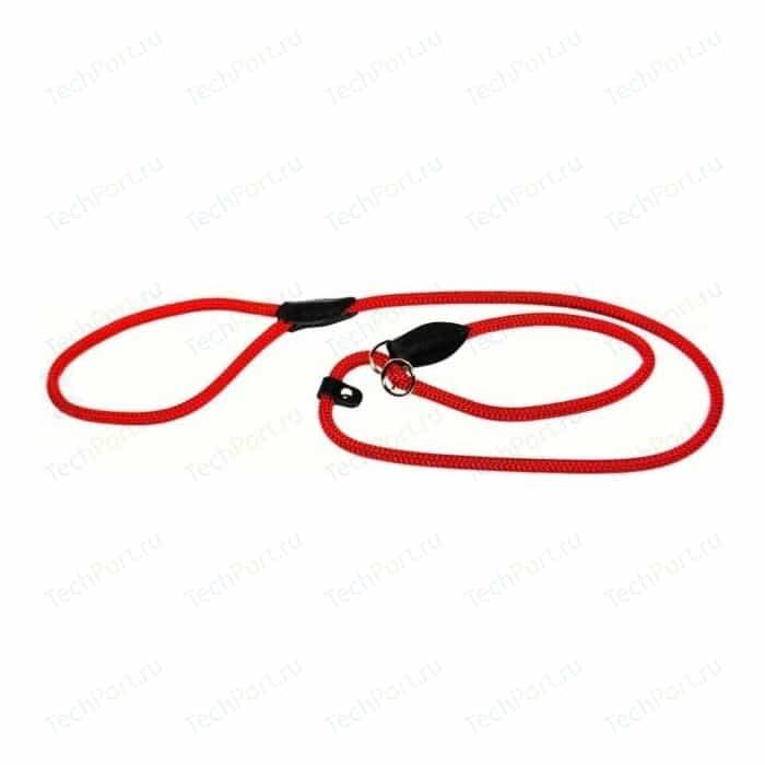 Ринговка Hunter Leash Retriever Freestyle 8/120 нейлоновая стропа красная для собак