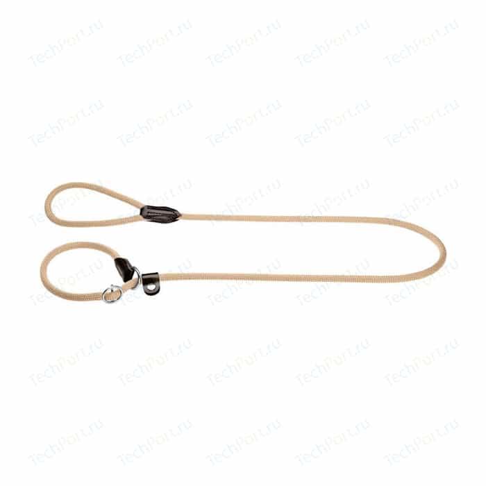 Ринговка Hunter Leash Retriever Freestyle 8/170 нейлоновая стропа бежевая для собак