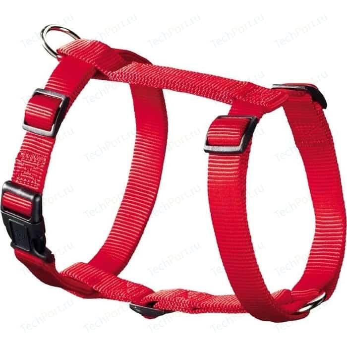 Шлейка Hunter Smart Harness Ecco Sport Rapid M/20 (42-65/45-76 см) нейлон красная для собак