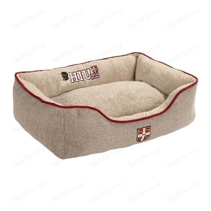 Лежанка Hunter Dog Sofa University S софа бежевая для собак 40х60x20 см