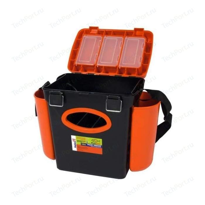 Ящик для зимней рыбалки Тонар Helios FishBox односекционный 10 л.