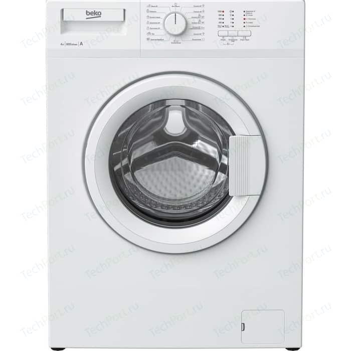 Стиральная машина Beko WRS 44P1 BWW стиральная машина beko wre 65p1 bww белый