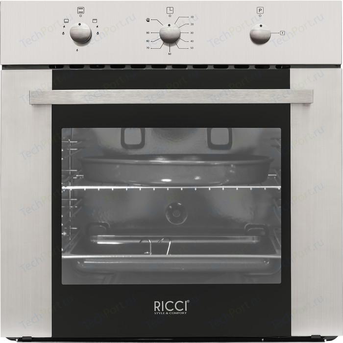 Газовый духовой шкаф RICCI RGO-640IX