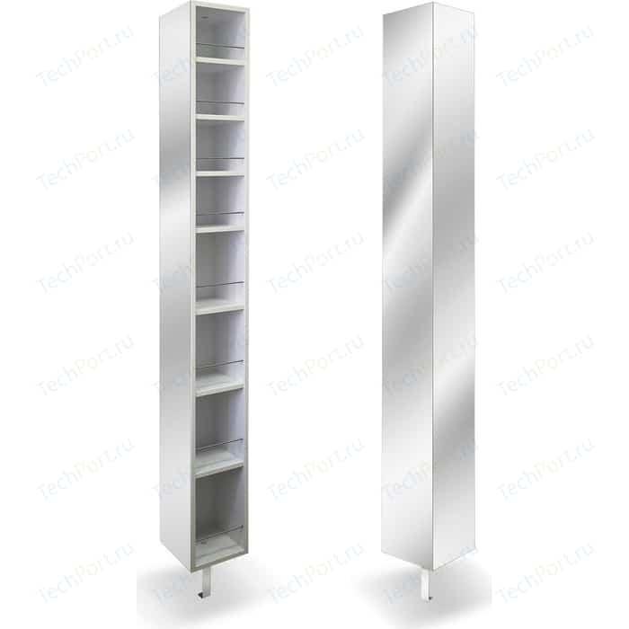 Поворотный зеркальный шкаф Shelf.On Спика Шелф