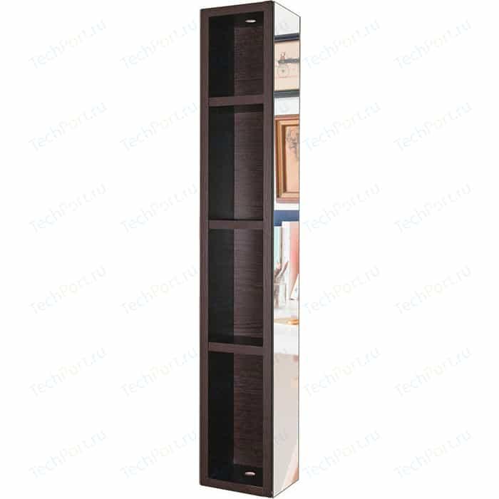 Поворотный зеркальный шкаф Shelf.On Хоп Шелф венге