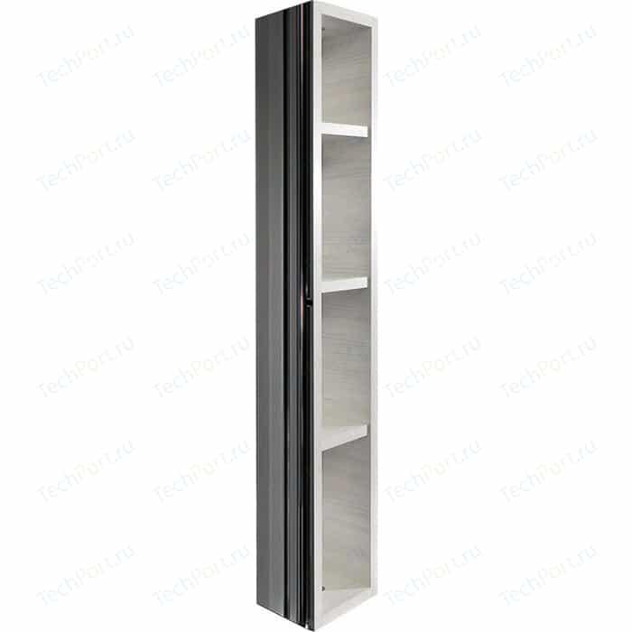Поворотный зеркальный шкаф Shelf.On Хоп Шелф беленый дуб