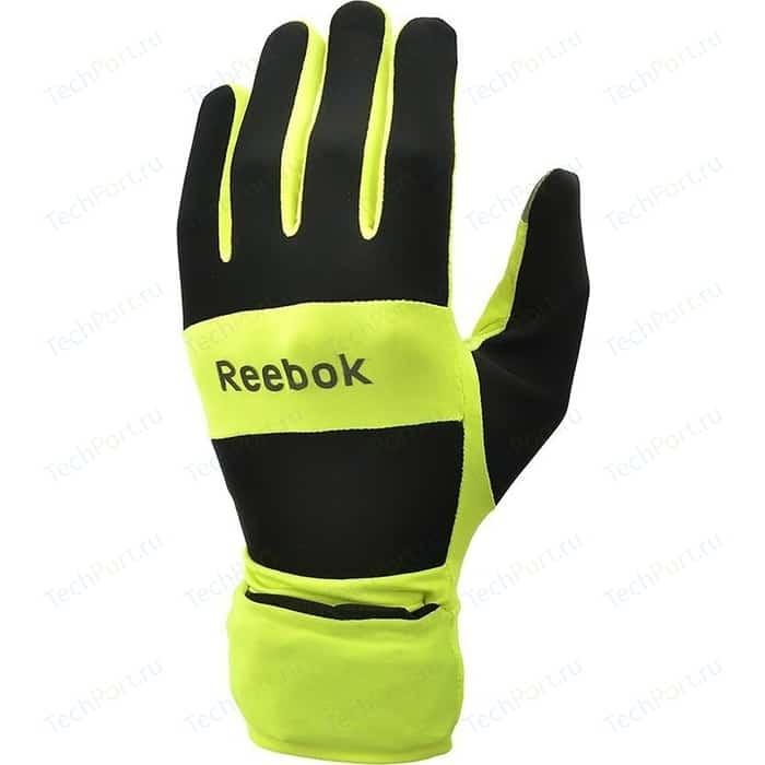 Перчатки для бега Reebok всепогодные RRGL-10134YL р. L