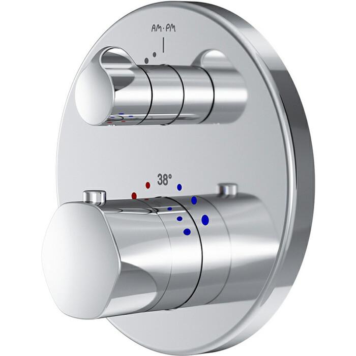 Термостат для душа Am.Pm Gem встроенный с термостатом (F9075600)