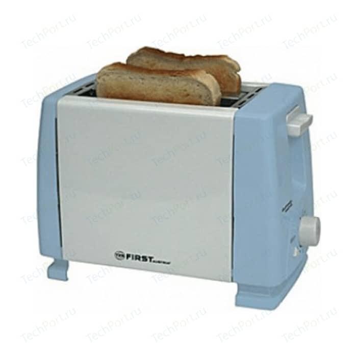 Тостер FIRST FA-5366 Blue кухонные весы first fa 6401 1 blue